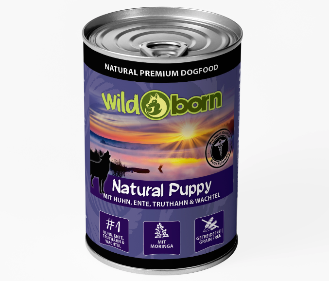Wildborn Natural Puppy Nassfutter
